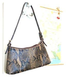 Liz Claiborne vintage snake bag